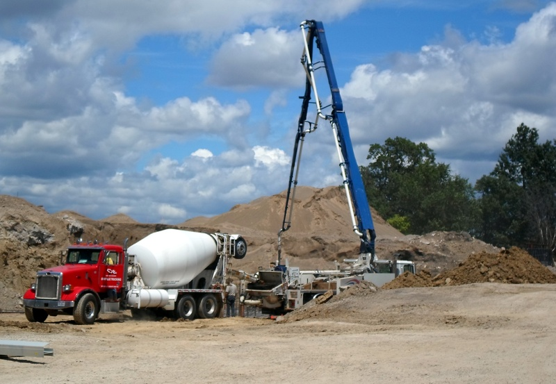 Pouring Footer for wall