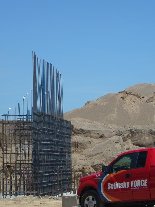 Rebar for High Wall
